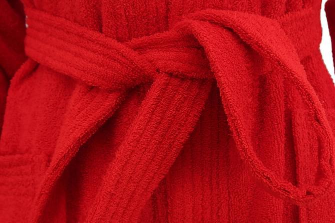 Kylpytakki Hobby Naisten - Punainen - Sisustustuotteet - Kodintekstiilit - Kylpyhuoneen tekstiilit