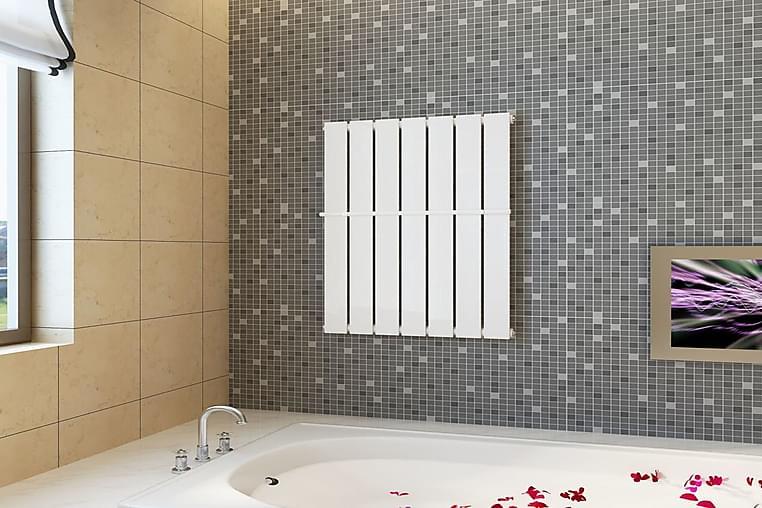 Lämmittävä Pyyheteline 542mm + Lämpöpaneeli 542x900 mm - Valkoinen - Sisustustuotteet - Kodintekstiilit - Kylpyhuoneen tekstiilit