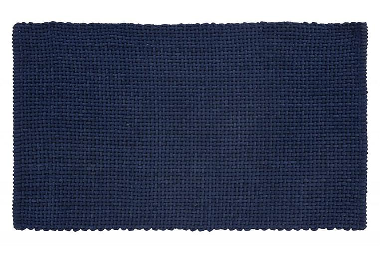 Matto Basket 100x60 Merensininen - Turiform - Sisustustuotteet - Kodintekstiilit - Kylpyhuoneen tekstiilit
