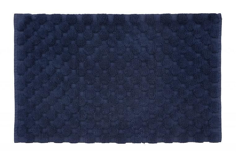 Matto Dot 100x60 Merensininen - Turiform - Sisustustuotteet - Kodintekstiilit - Kylpyhuoneen tekstiilit