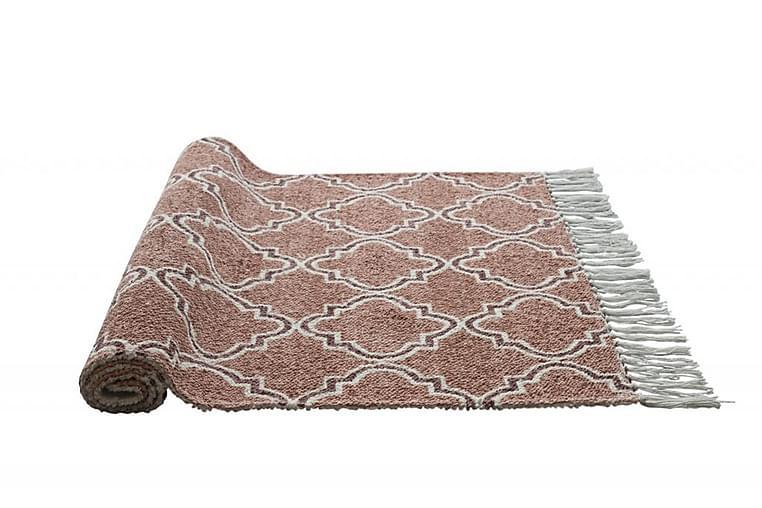 Matto Prego 70x110 Oranssi - Nordicform - Sisustustuotteet - Kodintekstiilit - Kylpyhuoneen tekstiilit
