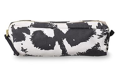 Meikkilaukku Pesue, S, 20x6cm, musta/valkoinen