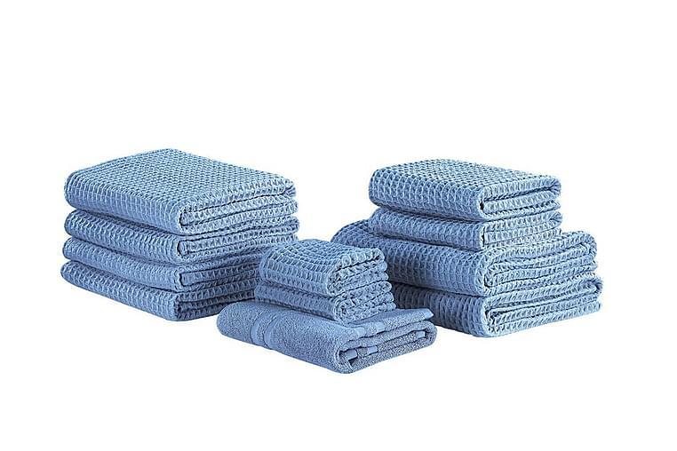 Pyyhesetti Aderet 11-pak - Sininen - Sisustustuotteet - Kodintekstiilit - Kylpyhuoneen tekstiilit