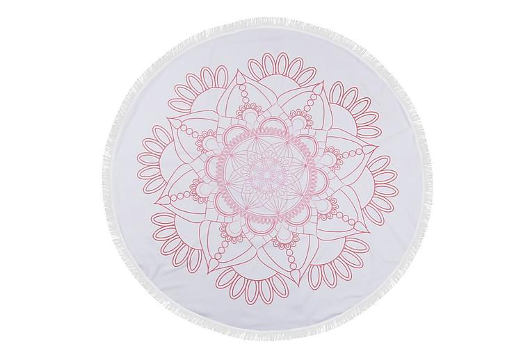 Rantapyyhe Pearl Home Fouta 150 cm Pyöreä - Monivärinen - Sisustustuotteet - Kodintekstiilit - Kylpyhuoneen tekstiilit