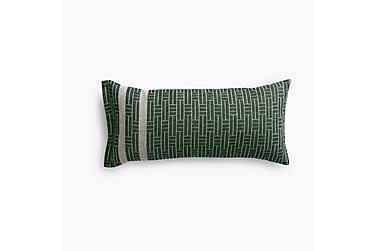 Saunatyyny Tamminiemi, 25x50cm, vihreä/pellava