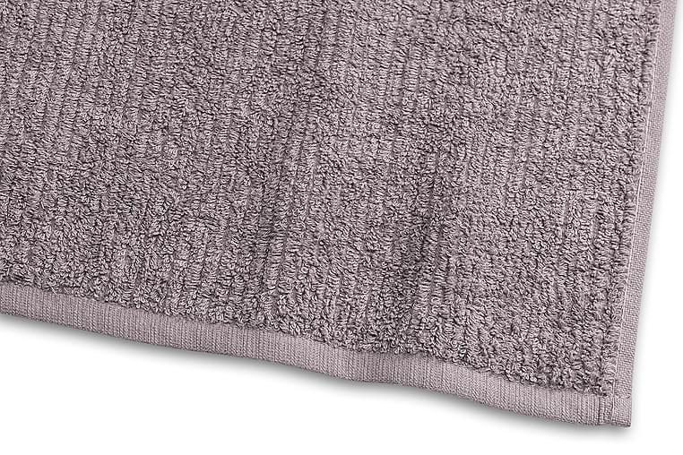 Stripe Froteepyyhe 30x50 cm Harmaa - Borganäs - Sisustustuotteet - Kodintekstiilit - Kylpyhuoneen tekstiilit