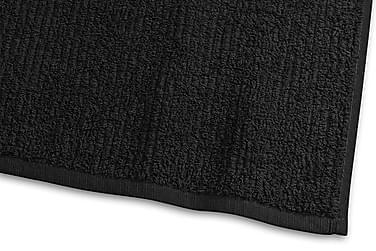Stripe Froteepyyhe 30x50 cm Musta