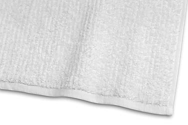 Stripe Froteepyyhe 30x50 cm Valkoinen