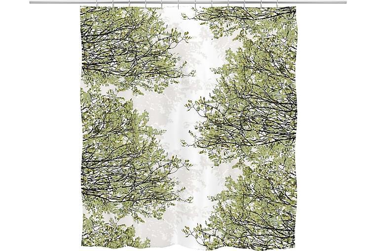 Suihkuverho Havina 180x200 cm Vihreä - Vallila - Sisustustuotteet - Kodintekstiilit - Kylpyhuoneen tekstiilit