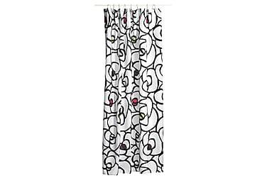Suihkuverho Rosegarden 180x200 cm Valkoinen