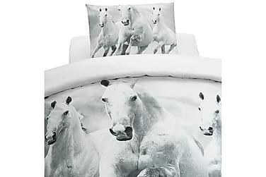 Pussilakanasetti Digi Horses 2-os 150x210 cm