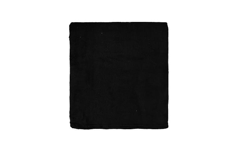 Peitto Inga - Musta - Sisustustuotteet - Kodintekstiilit - Torkkupeitot