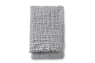 Pellavatorkkupeite Lino, 130x170cm, harmaa