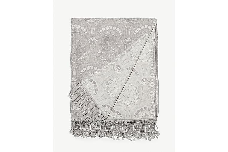 Torkkupeite Odelia 130x170 cm Harmaa - Lennol - Sisustustuotteet - Kodintekstiilit - Torkkupeitot