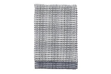 Torkkupeite Voffeli 130x170 cm Musta/valkoinen