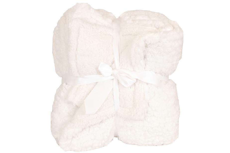 Torkkupeitto Boa Fluff Valkoinen/Valkoinen 130x160