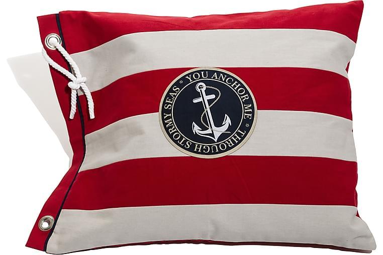 Lord Nelson Victory Tyynynpäällinen - 50x63cm Punainen - Sisustustuotteet - Kodintekstiilit - Tyynynpäälliset