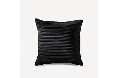 NIKOLAI koristetyyny 45x45 cm musta