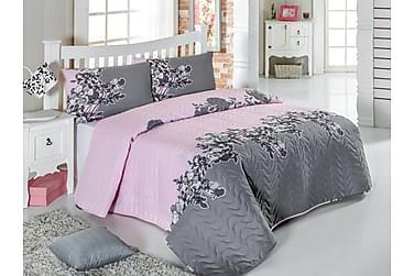 Päiväpeite Eponj Home Yhden 160x220+ tyynyliina Tikattu
