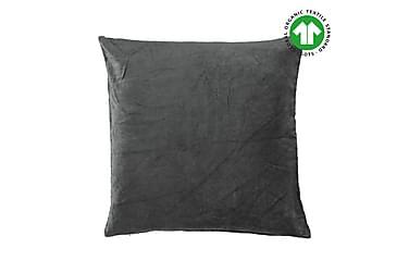 Tyynyliina Ava GOTS Antrasiitti 50x50 cm