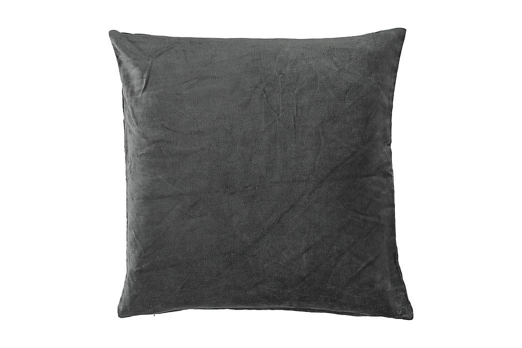 Tyynyliina Ava GOTS Antrasiitti 50x50 cm - Sisustustuotteet - Kodintekstiilit - Tyynynpäälliset