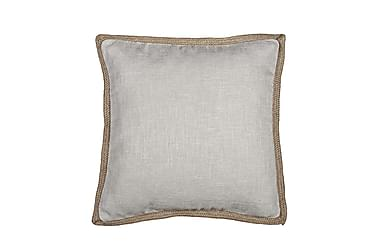 Tyynynpäällinen Aspen 45x45 cm Luonnonvalkoinen