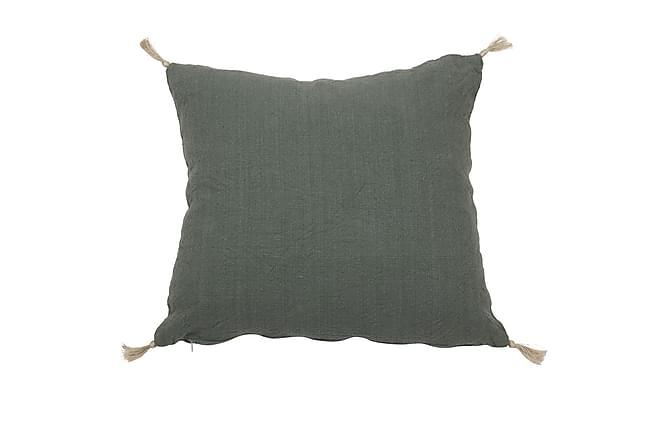 Tyynynpäällinen Chilla 45x45 cm Vihreä - Fondaco - Sisustustuotteet - Kodintekstiilit - Tyynynpäälliset