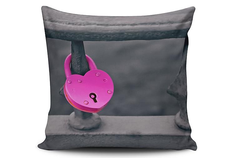 Tyynynpäällinen Cushion Love 45x45 cm - Monivärinen - Sisustustuotteet - Kodintekstiilit - Tyynynpäälliset