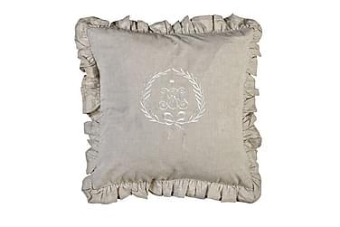 Tyynynpäällinen Emmy 45x45 cm Pellavanvärinen