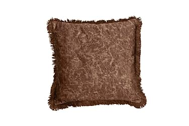 Tyynynpäällinen Gina 45x45 cm Ruskea