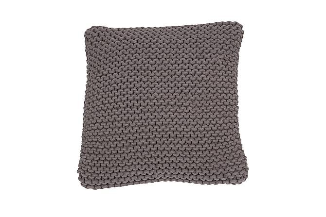 Tyynynpäällinen Knut 45x45 cm Harmaa - Fondaco - Sisustustuotteet - Kodintekstiilit - Tyynynpäälliset