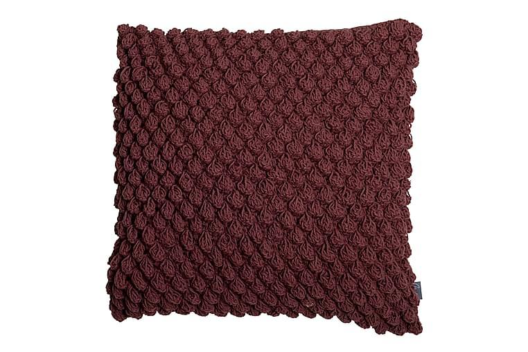 Tyynynpäällinen Molly 45x45 cm Viininpunainen - Mogihome - Sisustustuotteet - Kodintekstiilit - Tyynynpäälliset