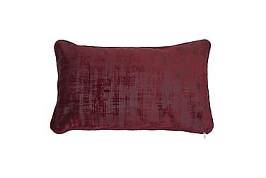 Tyynynpäällinen Owen 30x50 cm Sametti Viininpunainen