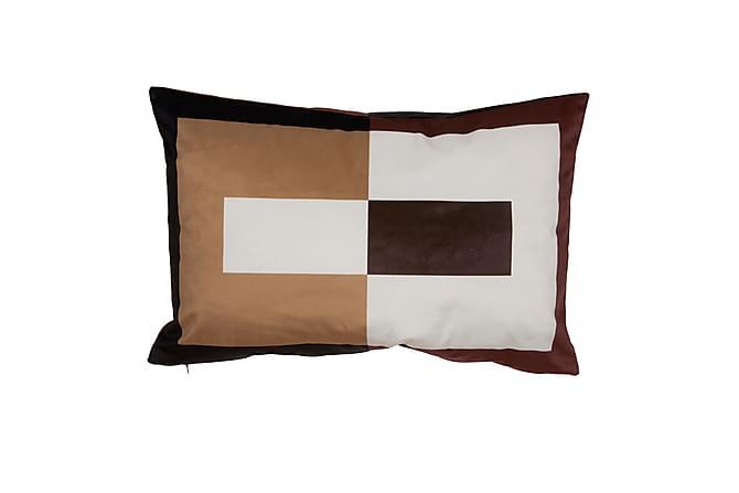 Tyynynpäällinen Plaza 60x40 cm Ruskea - Sisustustuotteet - Kodintekstiilit - Tyynynpäälliset