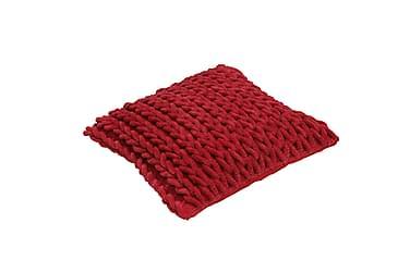 Tyynynpäällinen Rope 45x45 Punainen