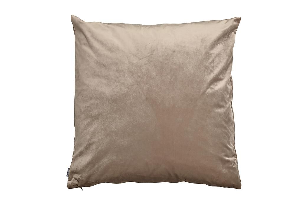 Tyynynpäällinen Sametti 60x60 cm Hiekka - Mogihome - Sisustustuotteet - Kodintekstiilit - Tyynynpäälliset