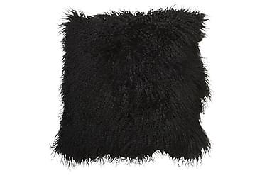 Tyynynpäällinen Tibet 45x45 cm Lammas Musta