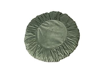 Tyynynpäällinen Tilde 50 cm Pyöreä Sametti Harmaanvihreä