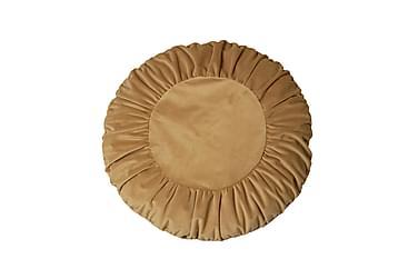 Tyynynpäällinen Tilde 50 cm Pyöreä Sametti Kulta