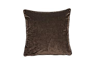Tyynynpäällinen Velvet 45x45 cm Sametti Kahvi
