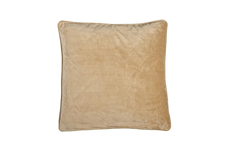 Tyynynpäällinen Velvet 45x45 cm Sametti Kulta - Fondaco - Sisustustuotteet - Kodintekstiilit - Tyynynpäälliset