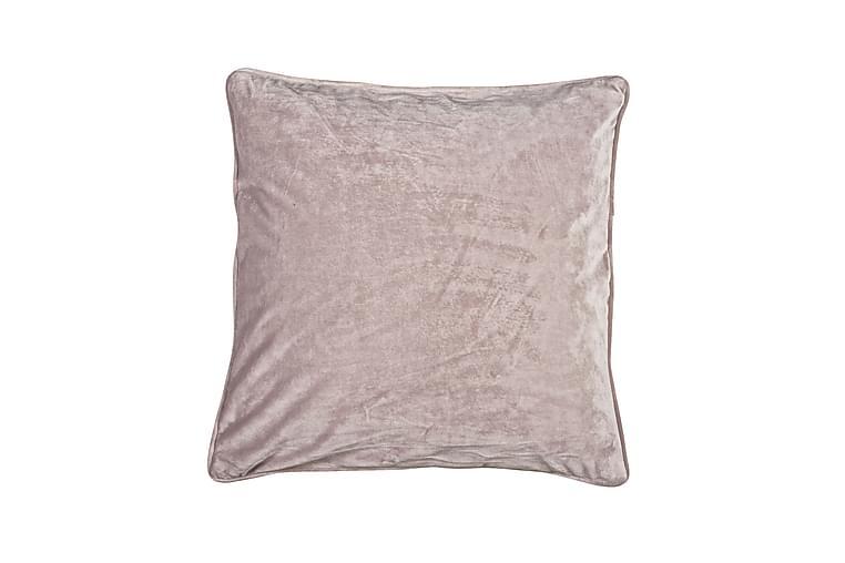 Tyynynpäällinen Velvet 45x45 cm Sametti Roosa - Fondaco - Sisustustuotteet - Kodintekstiilit - Tyynynpäälliset