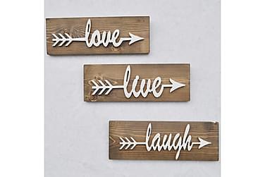 Evila Seinäkoriste Love Live Laugh