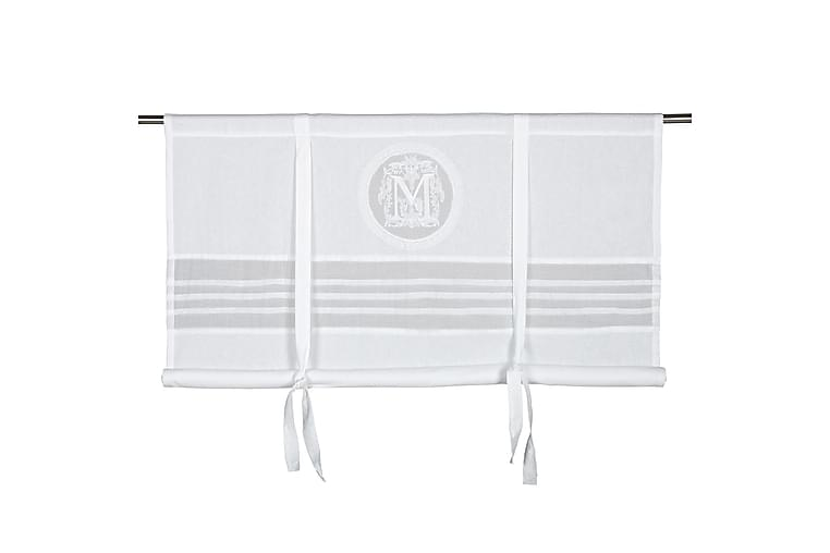Laskosverho Molly 140x100 cm Valkoinen - Fondaco - Sisustustuotteet - Kodintekstiilit - Verhot
