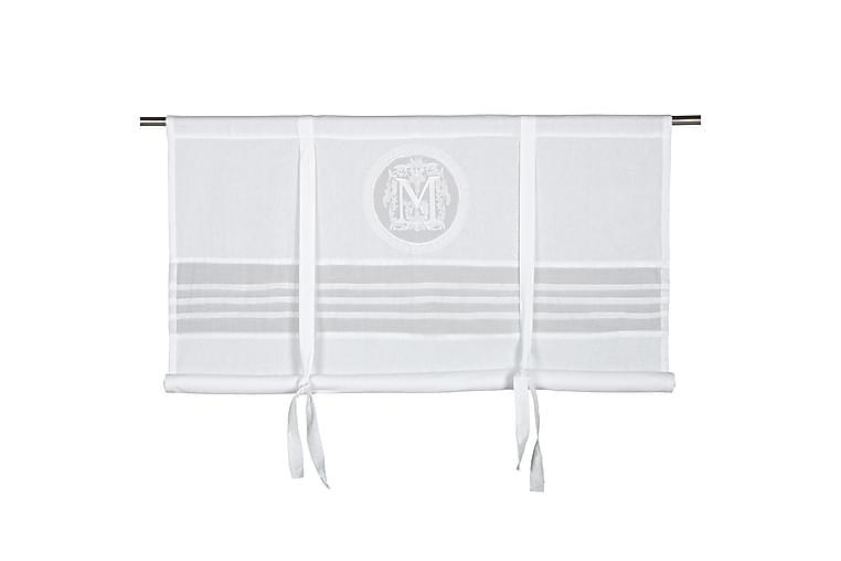 Laskosverho Molly 180x100 cm Valkoinen - Fondaco - Sisustustuotteet - Kodintekstiilit - Verhot