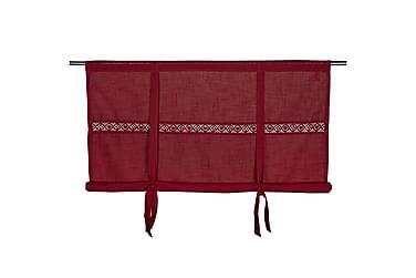 Laskosverho Sanna 140x120 cm Punainen