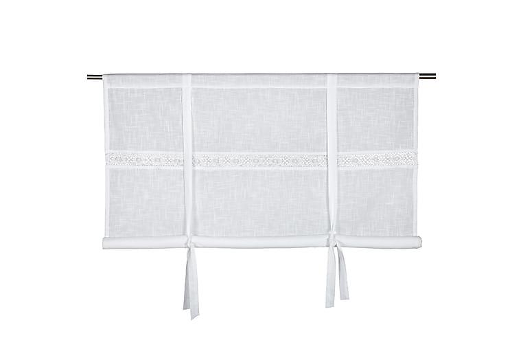 Laskosverho Sanna 160x120 cm Valkoinen - Fondaco - Sisustustuotteet - Kodintekstiilit - Verhot