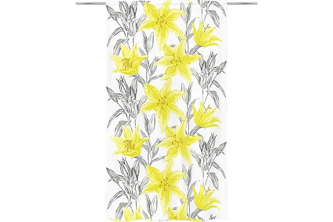 Lily Fancy Valmisverho 140x250 cm yellow - Vallila - Sisustustuotteet - Kodintekstiilit - Verhot