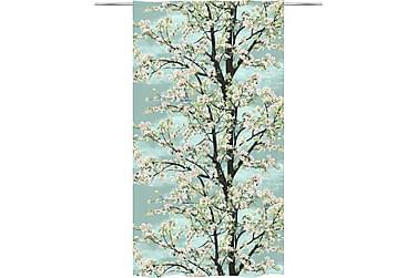 Omenapuu Valmisverho 140x250 cm aqua