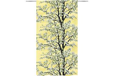 Omenapuu Valmisverho 140x250 cm yellow